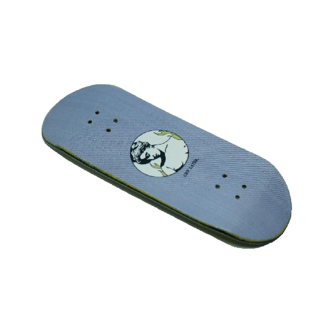Tabla de fingerboard Cry Later de la colaboración de Rudens x ALP fingerboard
