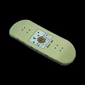 Fingerboard School Life diseñado por Rudens y fabricado a mano por ALP Fingerboard