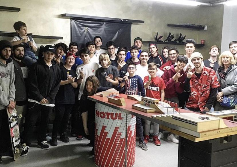 evento de fingerboard Barcelona
