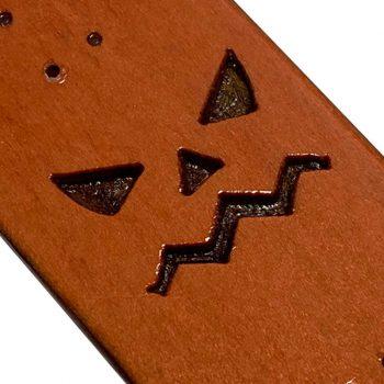 ALP Fingerboard Truco o Trato Engraved 2020 Calabaza Parricida