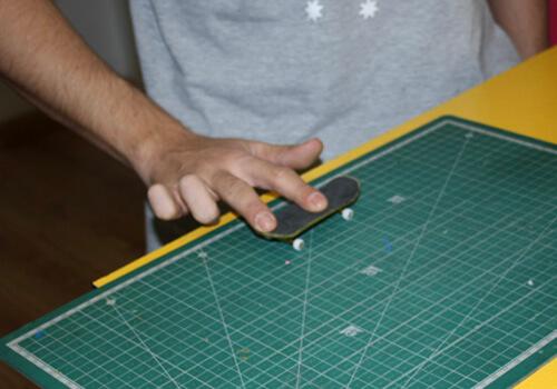 Colocarse bien Como Hacer Ollie En Fingerboard