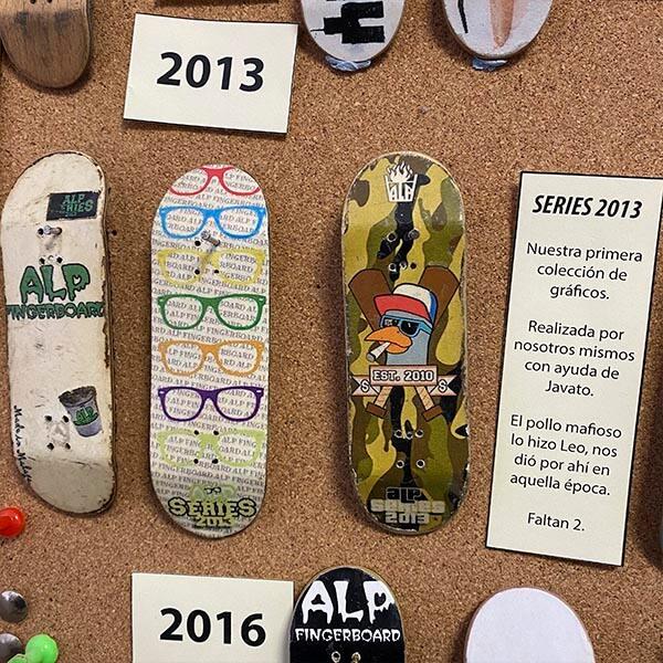 evolución alp fingerboard 2013 series 2013