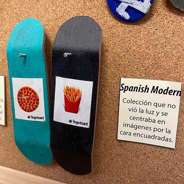 evolución alp fingerboard 2016 spanish collection