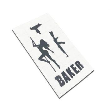 sticker fingerboard gangster