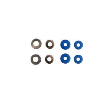Bushings de fingerboard azules