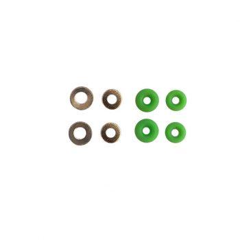 Bushings de fingerboard verdes